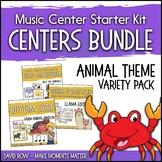 Animal Themed Music Center Starter Kit - Variety Pack Bundle