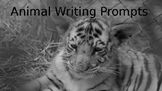 Animal Themed Picture Writing Prompts or Story Starters