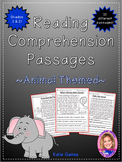 Animal Themed Reading Passages *JUST PRINT & TEACH!*