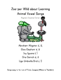 Animal Theme Short and Long Vowel Songs AEIOU