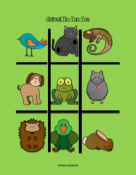 Animal Tic-Tac-Toe