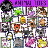 Animal Tiles {Creative Clips Clipart}