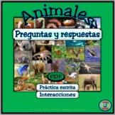 Animal Topic Questions & Responses .PDF - Preguntas y resp