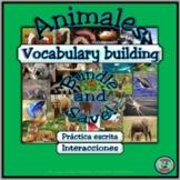 Animal Topic Vocabulary Building Bundle