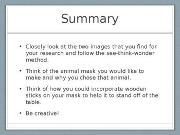 Animal Totems PowerPoint Presentation