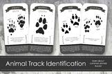 Animal Track Identification Cards- Montessori Inspired