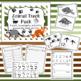 Animal Track Pack- Write Around the Room