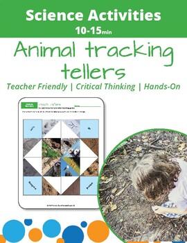 Animal Tracking: Animal Tracks Fortune Teller