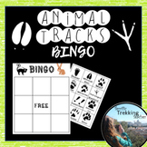 Animal Tracks Build-A-Bingo and Exit Slips