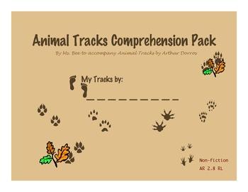 Animal Tracks Comprehension Pack
