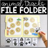 Animal Tracks File Folders ( 2 sets ) | File Folders for S