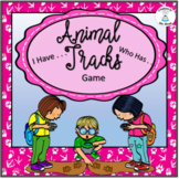 Animal Tracks - I Have . . . Who Has? Game