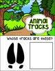 Animal Tracks Matching Activity