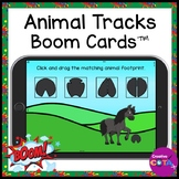 Animal Tracks Matching BOOM Cards