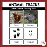 Animal Tracks | Nature Curriculum in Cards | Montessori
