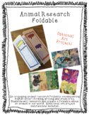 Animal Traits Foldable