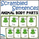 Scrambled Sentence Animal Adaptations Science Center