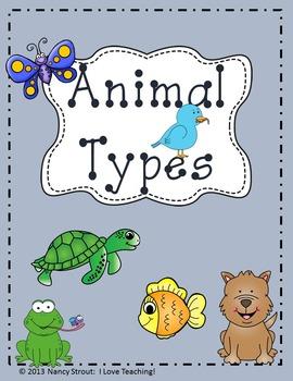 Animals: Classifying Animal Types