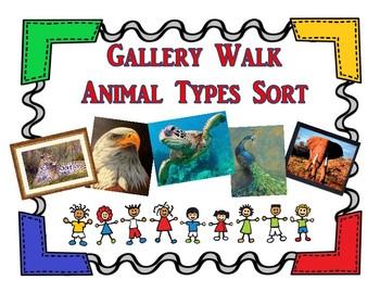 Animal Types Gallery Walk