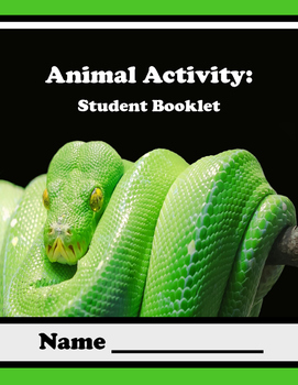 Animal Unit  Booklet: 10 Activities Included