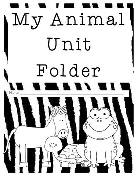 Animal Unit Booklet