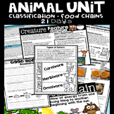 Animal Unit Classification and Food Chain