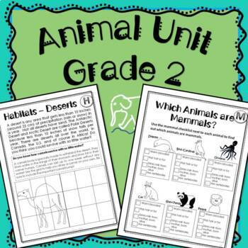 Animal Unit (Habitats, Mammals, Reptiles, Amphibians, Birds, Fish, Insects)