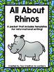 Informational Writing Bundle: Zoo Animals { Includes Blank