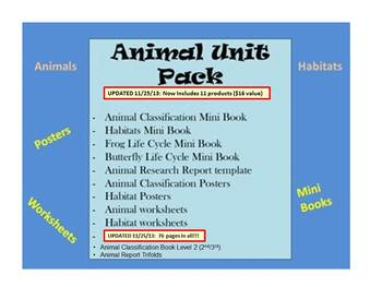 Animal Unit PACK