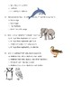 Animal Unit Quizzes for Science (5 quizzes)