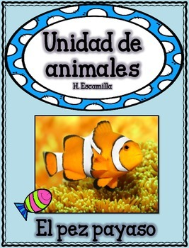 Animal Unit - The Clown Fish- in Spanish