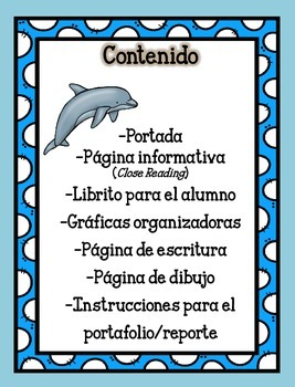 Animal Unit - The Dolphin- in Spanish
