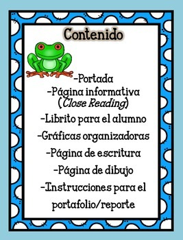 Animal Unit - The Frog - in Spanish