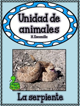 Animal Unit - The Snake - in Spanish