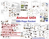 Animal Unit – Vertebrate and Invertebrate Characteristics (and more!) 100+ pages