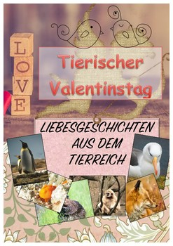 Animal Valetines Day, German, Lovestorys