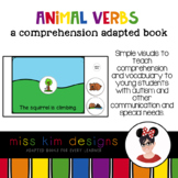 Animal Verbs A Comprehension Adapted Book