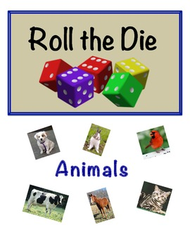 Animal Vocabulary Activity for Small Groups; Writing and Identification