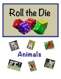 Animal Vocabulary Activity for Small Groups; Writing and I
