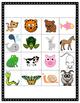Animal Vocabulary Matching Game (En Français)