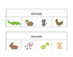 Animal Vocabulary (Receptive and Expressive)
