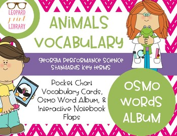 Animal Vocabulary for Osmo Words