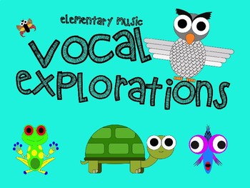 Animal Vocal Explorations