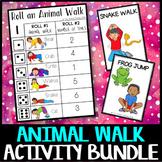 Animal Walk Activity Bundle: brain breaks, sensory process