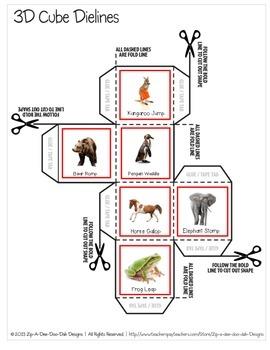 Animal Walk Movement Cubes