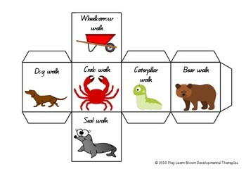 Animal Walks - Movement Dice