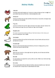 Animal Walks Poster