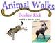 Animal Walks Station Cards