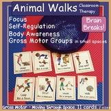 Animal Walks ~ Yoga Cards: Self-Reg, Brain Breaks, Gross Motor, Core Strength #2