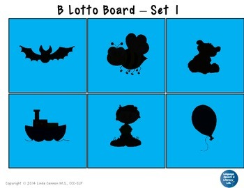 FREE Articulation and Language Activities for the Beginning B Sound